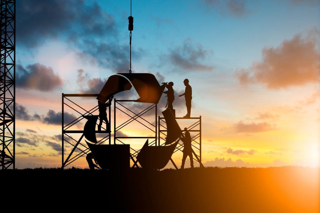 Instandhaltung hilft die Produktionsanlagen und – Güter zu erhalten und leistet somit einen enormen Beitrag zur Nachhaltigkeit.